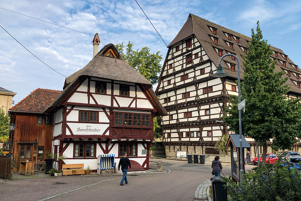 Führung: Geislinger Fachwerkhäuser - ihre Bewohner und Geschichten